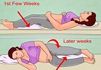 孕妇睡觉的正确姿态图 解秘孕妇为什么要选择左侧卧