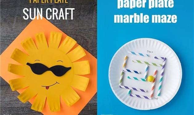 创意手工:蛋糕盘可以做什么? 做一个简单又好看手工吧!