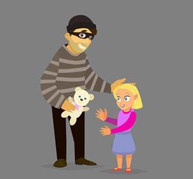托班安全教案《自我保护》 具有自我保护意识和自我保护方法