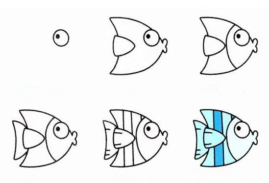 2分钟学会的简笔画动物的画法 100种动物简笔画步骤图