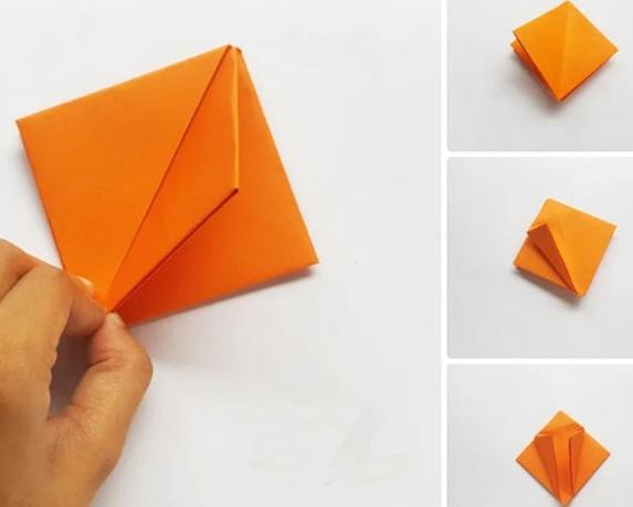 小学女生最喜欢的折纸大全 简单又漂亮的郁金香VS钻石