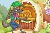 宝宝睡前故事:大灰狼和小白兔的故事(三则)