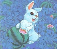 3—6岁儿童睡前故事之小白兔偷西瓜的故事