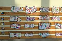 幼儿园大班姓名创意画 太有创意太有想法!